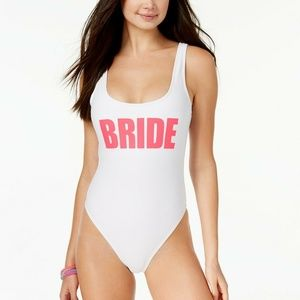 California Waves Juniors Bride Graphic High-Leg